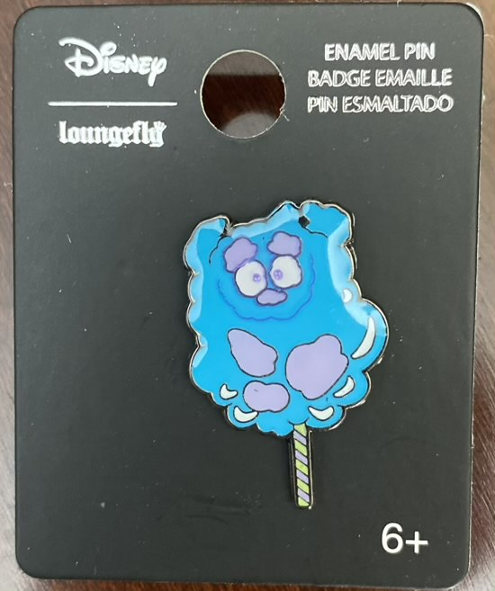 Sulley Cotton Candy BoxLunch Disney Pin