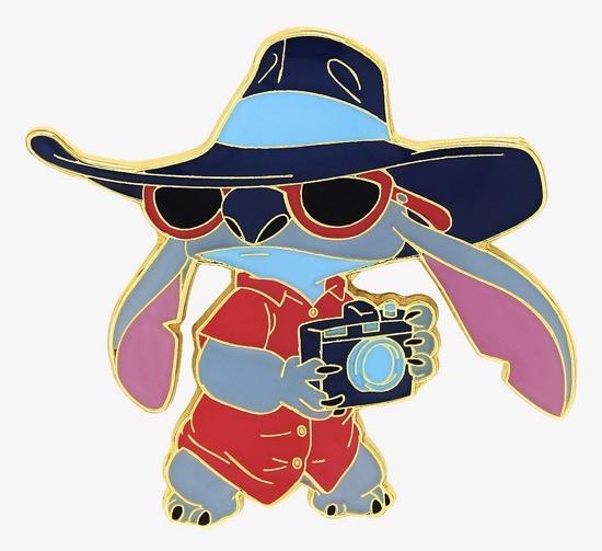 Tourist Stitch BoxLunch Pin