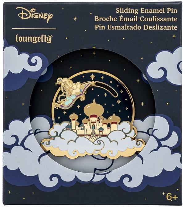 Aladdin and Princess Jasmine Limited Edition Loungefly Disney Pin