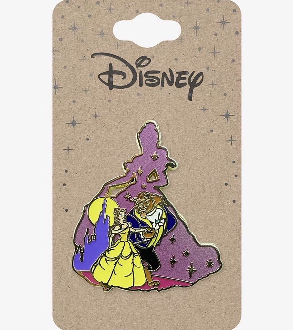 Beauty and the Beast Dancing Silhouette Disney Pin at BoxLunch