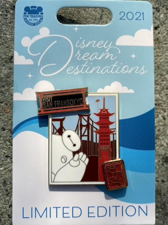 Big Hero 6 Disney Dream Destinations Pin