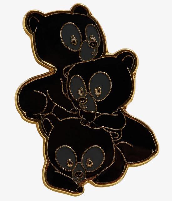 Brave Bear Triplets Hot Topic Disney Pin