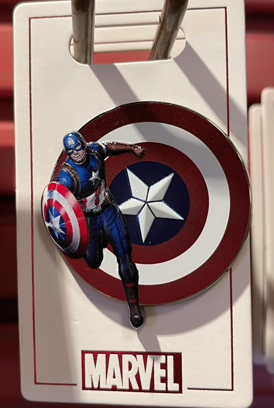 Captain America 2021 Marvel Pin
