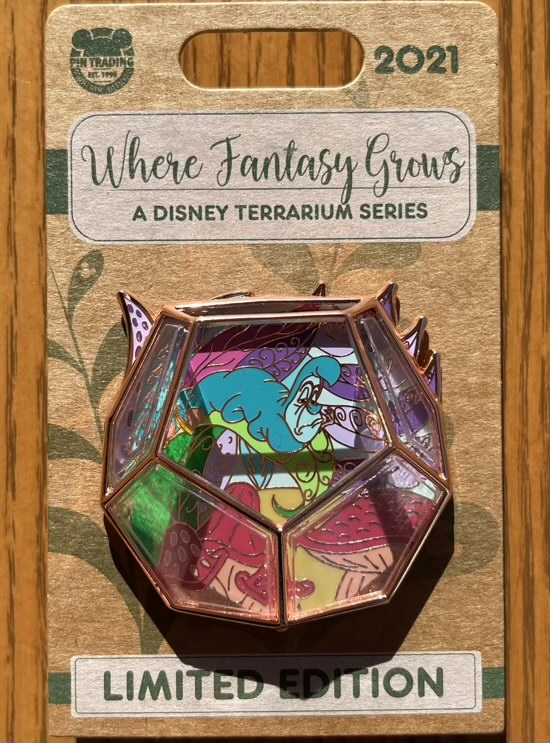 Caterpillar Terrarium Disney Pin