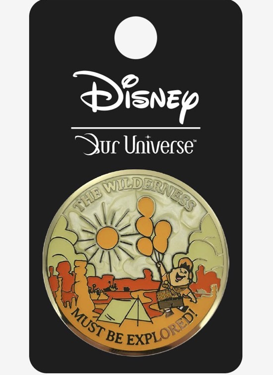 Disney Pixar Up Scenic Wilderness Our Universe Pin