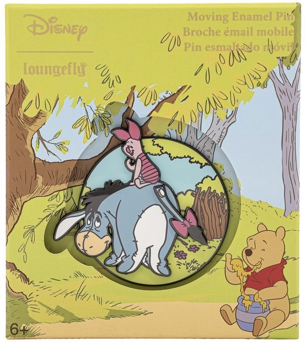 Eeyore & Piglet Limited Edition Loungefly Disney Pin