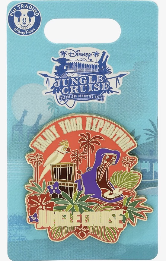 Enjoy Your Expedition Jungle Cruise Disney Pin