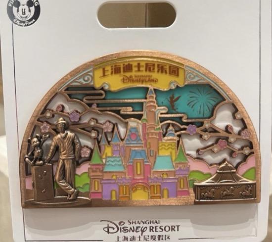 Flower Expo 2021 Shanghai Disney Pin