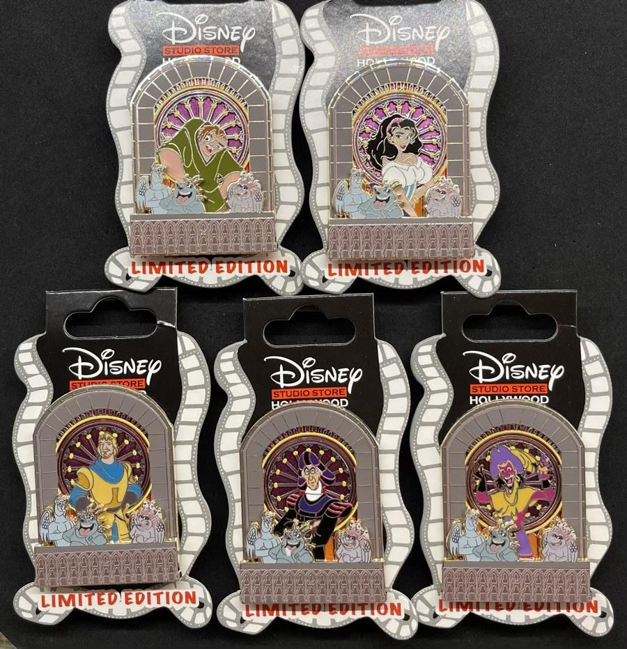 Hunchback 25th Anniversary DSSH Pins
