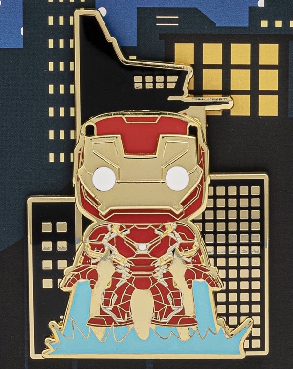 Iron Man Funko Pop! LE 600 Loungefly Pin