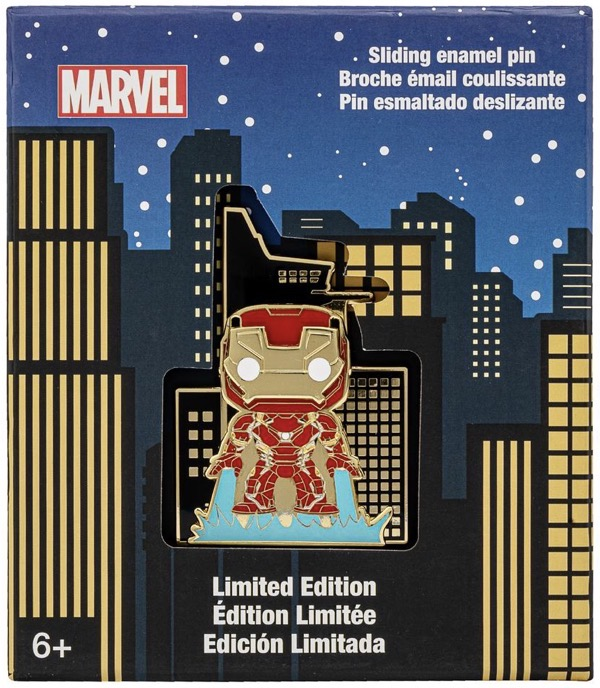 Iron Man Funko Pop! Limited Edition Loungefly Marvel Pin
