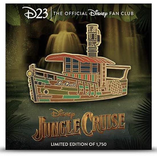 Jungle Cruise D23 Exclusive Disney Pin