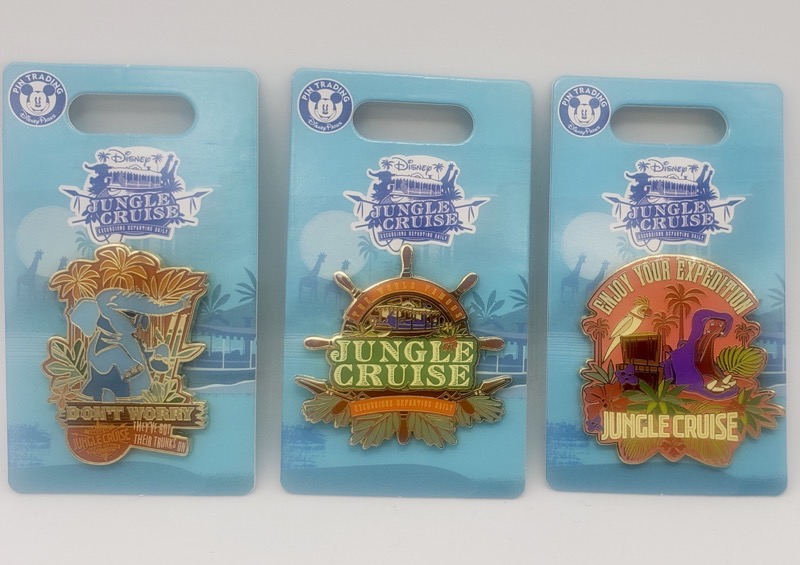 Jungle Cruise Pin Releases at BoxLunch