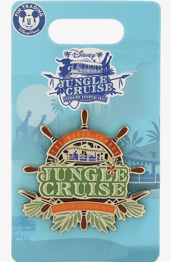 Jungle Cruise World Famous Excursions Disney Pin