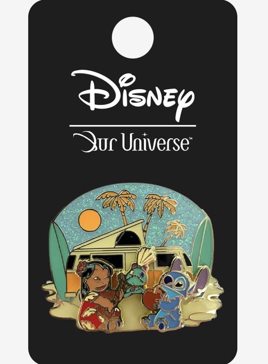 Lilo & Stitch Summer Vibes Our Universe Pin