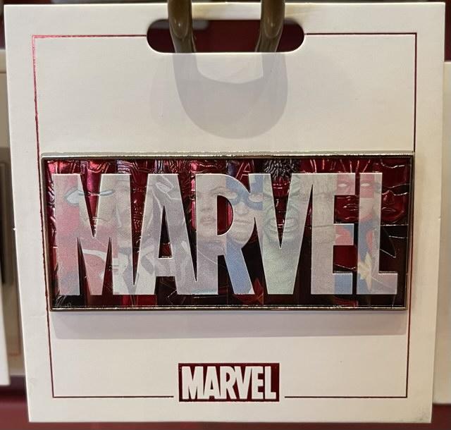 Marvel 2021 Logo Pin
