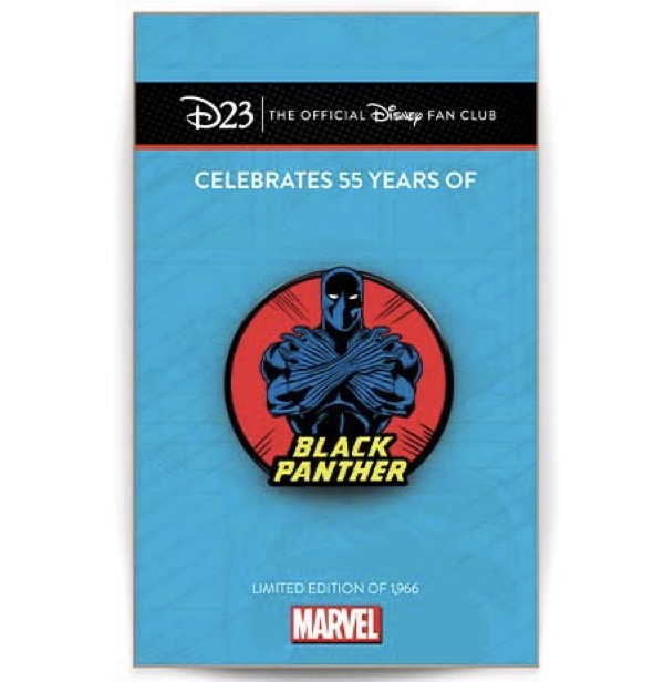 Marvel Black Panther 55th Anniversary D23 Exclusive Disney Pin