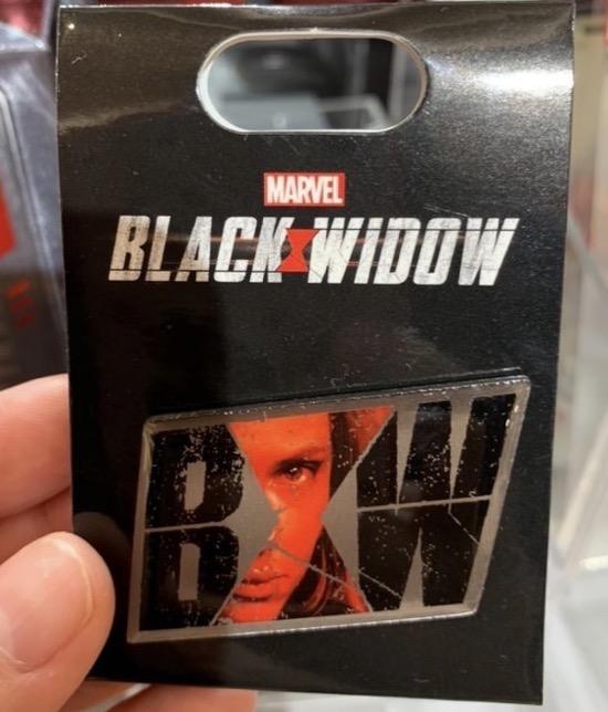 Marvel Black Widow Pin - Disney Store Japan