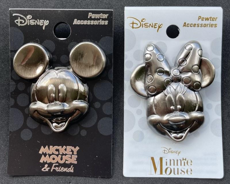 Mickey & Minnie Monogram International Pins