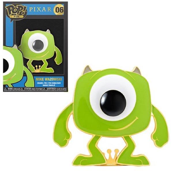 Mike Wazowski Monsters, Inc Funko Pop Pin