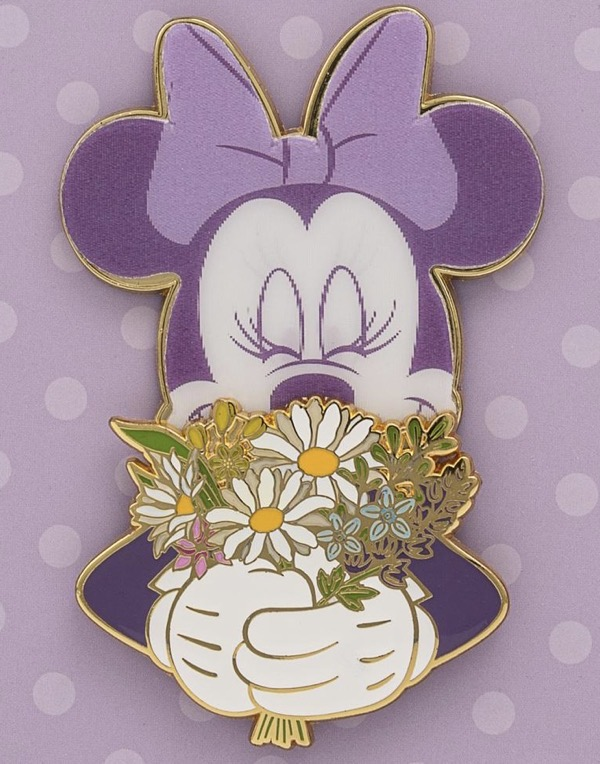 Minnie Mouse Floral LE 1,000 Loungefly Pin