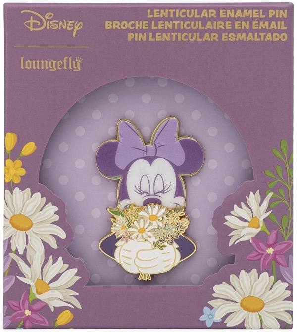 Minnie Mouse Floral Limited Edition Loungefly Disney Pin