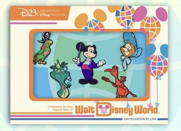 Most Magical Kingdom D23 Exclusive Disney Pin Set