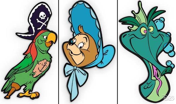 Most Magical Kingdom D23 Exclusive Disney Pins 2