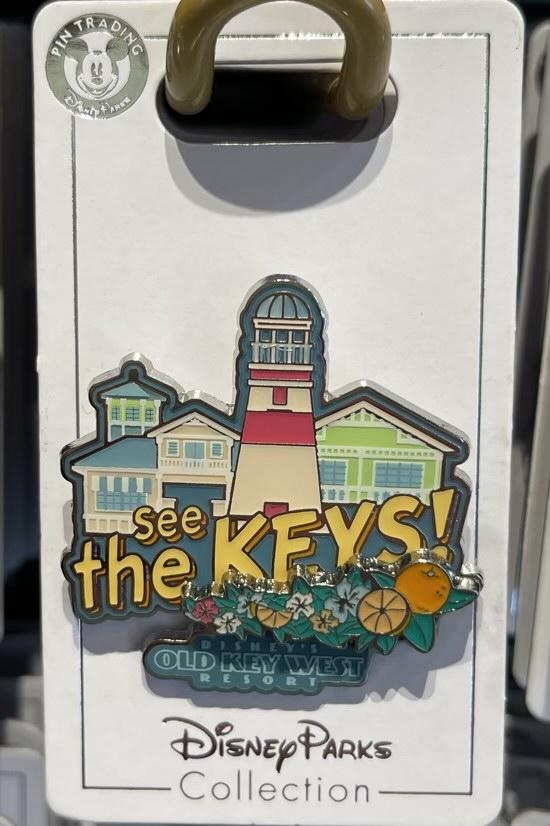 Old Key West Resort 2021 Disney Pin