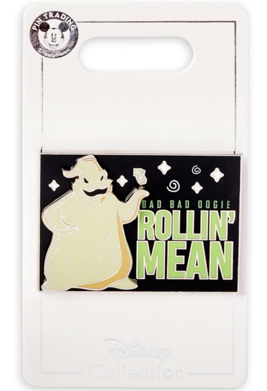 Oogie Boogie Flair Pin 2021