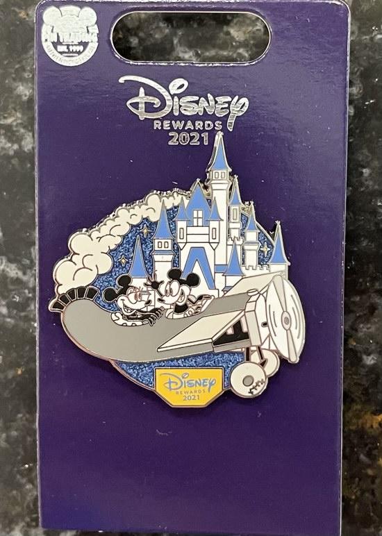 Plane Crazy Disney Visa 2021 Pin