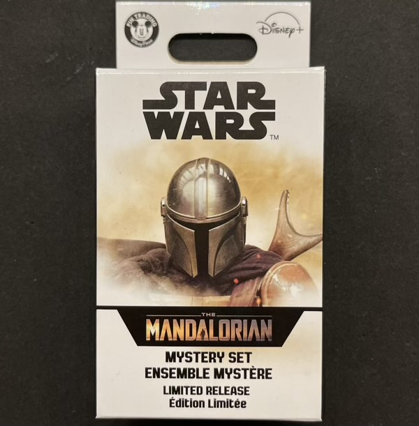 Star Wars The Mandalorian Helmets Mystery Pin Collection at Disney Parks