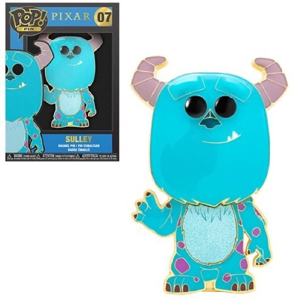 Sulley Monsters, Inc Funko Pop Pin