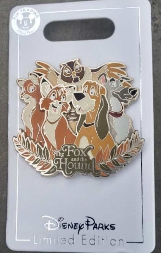 The Fox and the Hound 40th Anniversary Disney Pin