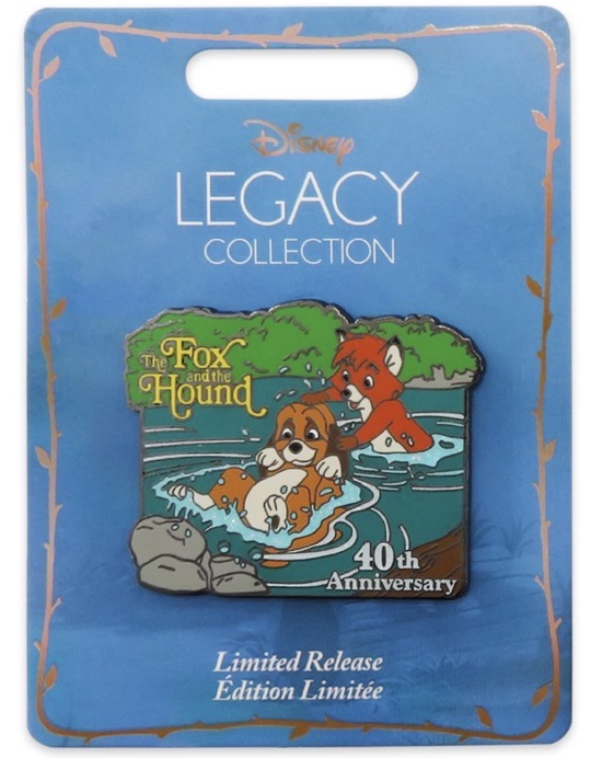 The Fox and the Hound 40th Anniversary Legacy Pin