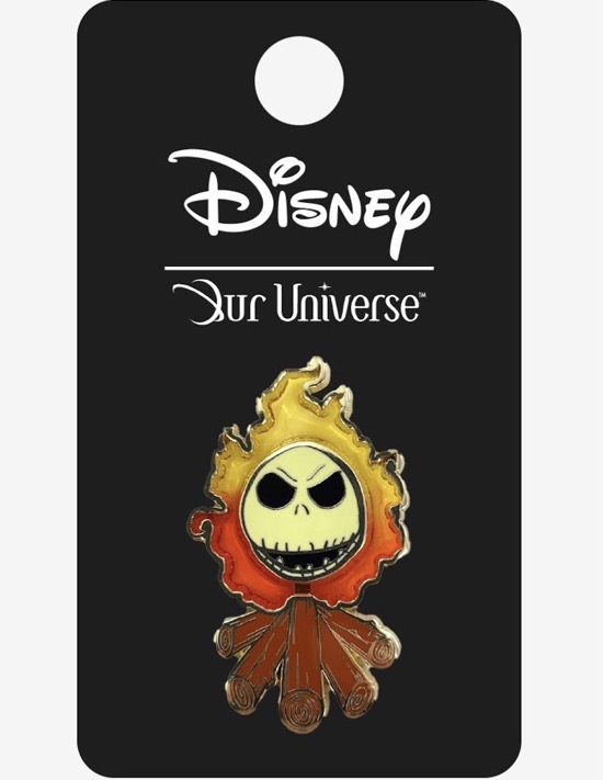 The Nightmare Before Christmas Jack Skellington Our Universe Pin
