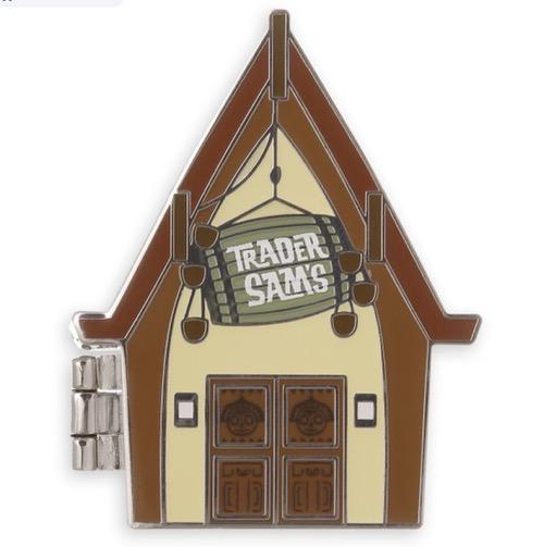 Trader Sam's Enchanted Tiki Bar 10th Anniversary Pin