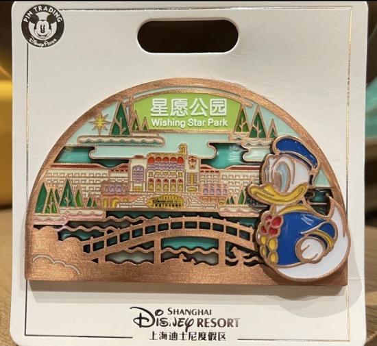 Wishing Star Park Flower Expo 2021 Shanghai Disney Pin