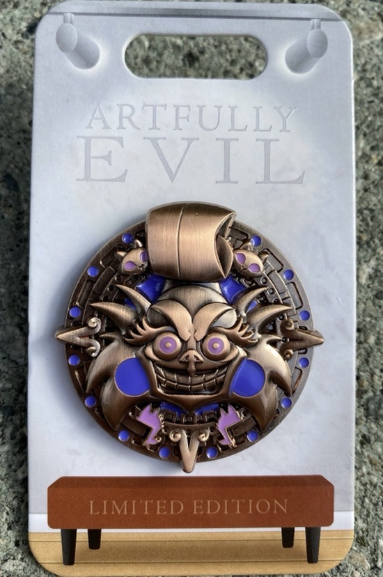 Yzma Artfully Evil Disney Pin