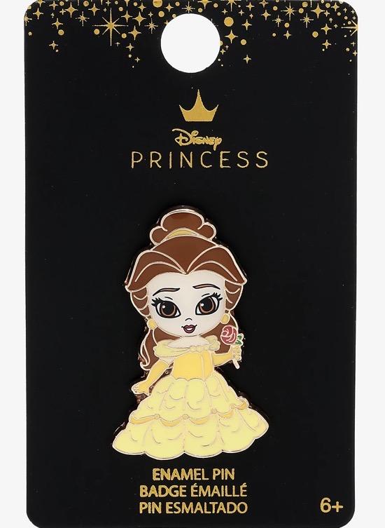 Belle Chibi Disney Pin at BoxLunch