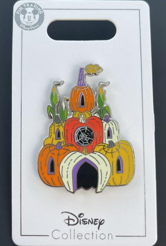 Castle Halloween 2021 Disney Pin