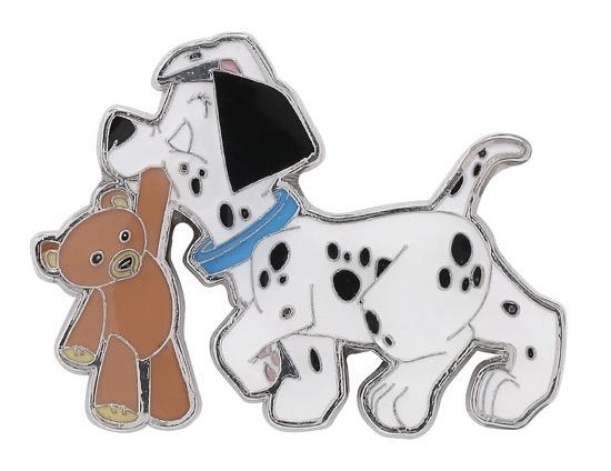 Disney 101 Dalmatians Puppy & Teddy Bear Pin