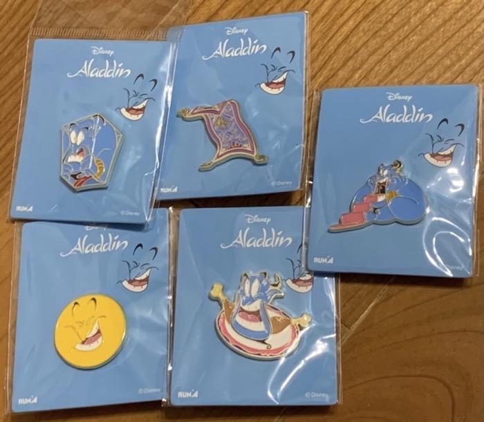 Disney Aladdin Genie Pins at Eyeup in Japan