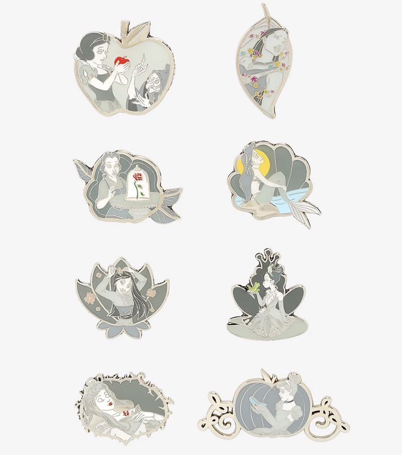 Disney Princesses Grayscale Moments Blind Box Pins at BoxLunch