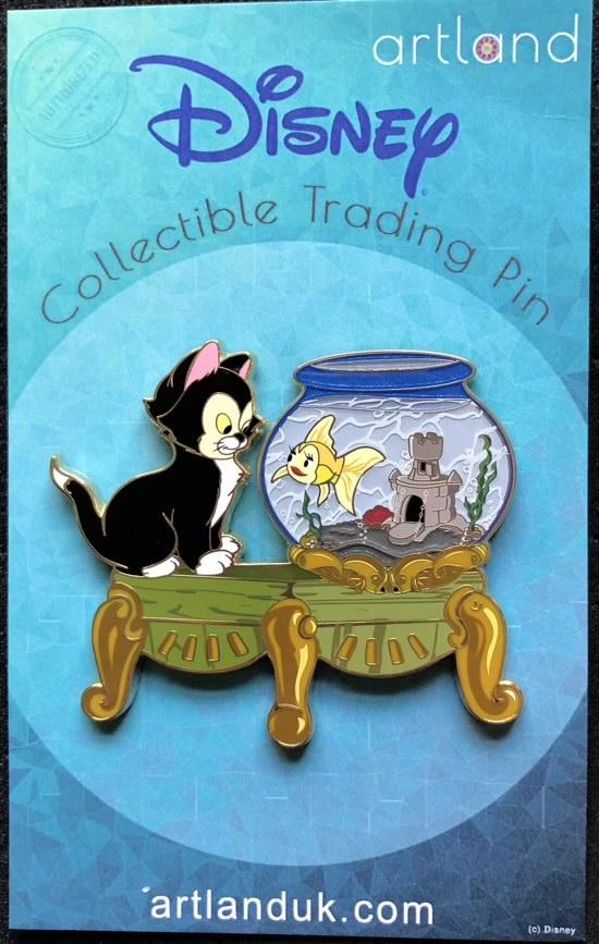 Figaro and Cleo ArtLand Disney Pin