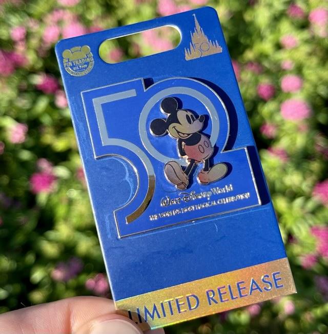 First Walt Disney World 50th Anniversary Pin