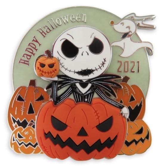 Happy Halloween 2021 shopDisney Pin