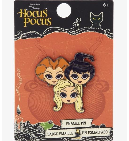 Hocus Pocus Sanderson Sisters Disney Pin at Hot Topic