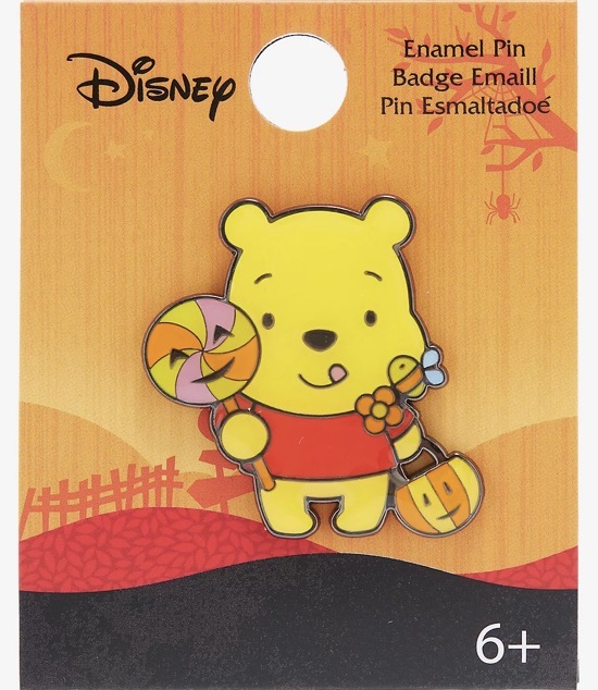 Winnie The Pooh Halloween Trick Or Treat Disney Pin at Hot Topic