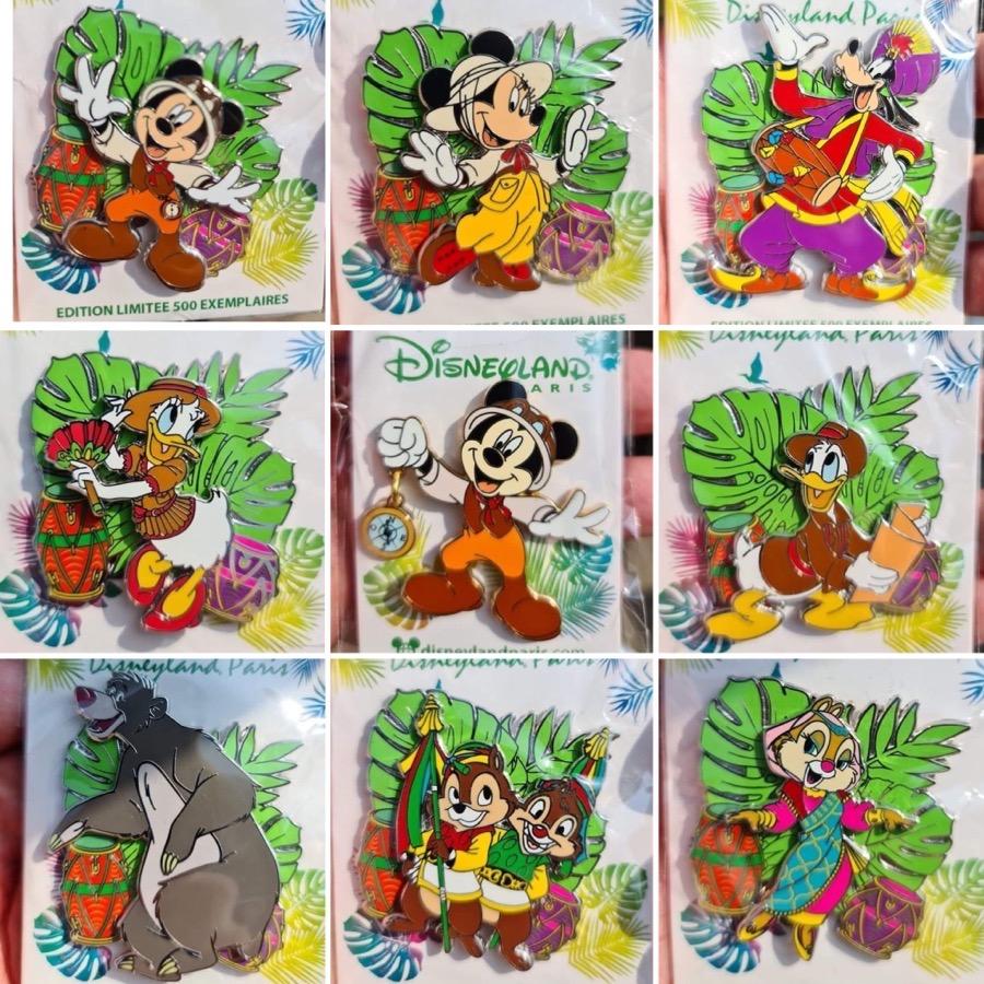 Jungle Pins - Disneyland Paris August 2021